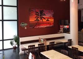 Hawaii Sunset Triple Tryptich Restaurant Wall Art