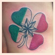 Italian Irish And Native American Family Symbol