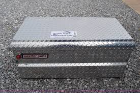 WeatherGuard Truck Toolbox | Item K6714 | SOLD! June 1 Vehic... Weather Guard Loside Truck Storage Box Long 1645 121501 Weather Guard Black Alinum Saddle 71 Low Profile Custom Weatherguard Toolbox For 2013 F150 Crew Ford Forum Toolboxes Install Uws Bed Step Tricks Weatherguard Adache Rack Bills Ace Truckbox And Accessory Center Terrys Toppers 6645201 Full Textured Matte Accsories Socal Crossover White Hinged 153 Cu Weatherguard 20901 Red Armour Compact Slim The New Quickdraw At Bullfighter School Youtube