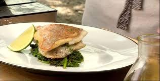 cuisine coriandre filet de poisson blanc à la coriandre fraîche par racha bassoul