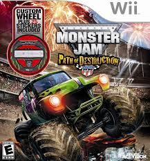 100 Play Monster Truck Games Amazoncom Jam 3 Path Of Destruction Xbox 360 Video