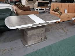 d esstisch betonoptik grau weiss 75 135 höhenverstellbar statt 899