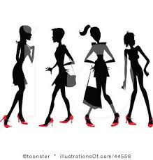 Fashion Runway Clip Art Royalty Free RF Clipart
