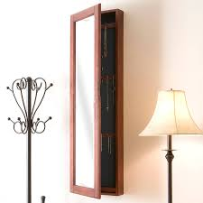 Mirrored Jewelry Box Armoire by Bedroom Wonderful White Jewelry Box Armoire Standing Mirror