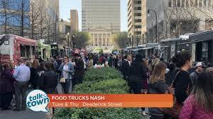 100 Food Trucks In Nashville Truck Street Parties In Downtown