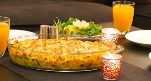 gratin de pâtes aux légumes جراتان المعكرونة بالخضار