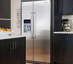 Samsung Cabinet Depth Refrigerator Dimensions by 22 7 Cu Ft Counter Depth Side By Side Refrigerator With Exterior