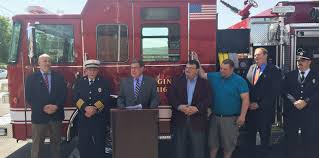 100 Action Truck New Herkimer Fire Ready For NY State Senate
