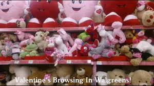 Charlie Brown Christmas Tree Sale Walgreens by Valentine U0027s Stuffed Animals In Walgreens Youtube