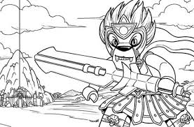 Warrior Longtooth Fighting Style Lego Chima Coloring Pages Batch