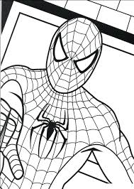 Coloring Pages Book Ideas Spider Man Homecoming Spiderman Mask Sheet 3 Games Full Size