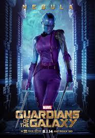 Guardians Of The Galaxy Poster Nebula