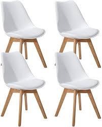 eggree 2er set esszimmerstühle skandinavisch küchenstuhl