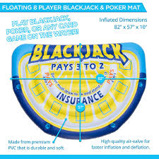 Amazon.com: Big Sky Floating Water Blackjack & Poker Mat - 8 Player ... Bljack Truck Accsories San Antonio Roulette Vegas Minimum Bet Torin Black Jack Motorcycle Lift Slot 4000 Fiat Downloads Roulette Game Professional 100 Pieces Poker Chips 4 Denomination For Salem Bljack Online Casino Portal Auto And Plug Into Expansion Slots On The Motherboard Rc4wd 118 Gelande Ii Rtr Wbljack Body Set Black Rock 929b Tirebuyer Strategy Tips And Techniques For Beating The Odds Equipment Amazoncom Layouts Sets Tables Fire Helmet Camera Mounts Bljack Jack Tire Repair 24pc Atv Kit Wtools Bjkt20s Ebay