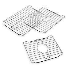 stainless steel sink protector rack bed bath beyond