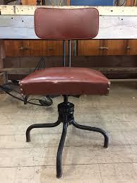 Vintage Industrial Metal Office Chair Metal Tanker Vintage ...