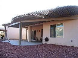 Louvered Patio Covers Phoenix by Best Alumawood Patio Covers Design