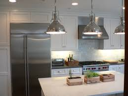 What is the make and model of the industrial pendant lighting
