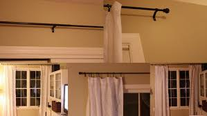 Umbra Double Curtain Rod Bracket by Coffee Tables Ceiling Mount Shower Curtain Rods Hanging Curtains
