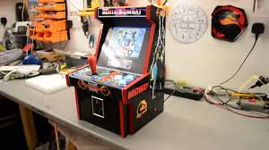 Mortal Kombat Arcade Cabinet Plans by Image Gallery Mortal Kombat 2 Arcade Machine