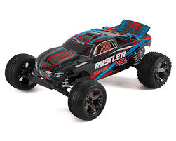 Traxxas Rustler VXL Brushless 1/10 RTR Stadium Truck (Red) [TRA37076 ... Traxxas Rustler 110 Rtr 2wd Electric Stadium Truck Rock N Roll W White Tra370541wht 370764rnrs Vxl Brushless Xl5 Battery And Nitro 25 With Tsm Blue Tra370541blue 4wd Scale Rc Car Wikipedia Traxxas Rustler Blue Brushed Tq 24