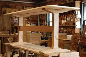 trestle table desk plans galena ideas furniture pinterest