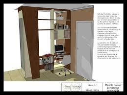 meuble bibliotheque bureau integre meuble bibliothèque bureau intégré 50720 bureau idées
