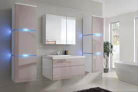 badmöbel set new cappuccino hochglanz weiß keramik waschbecken badezimmer led beleuchtung badezimmermöbel keramikbecken
