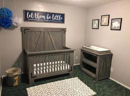 DIY Farmhouse Crib And Changing Table Free Plans At Shanty 2