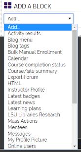 Lsu Online Help Desk by Moodle 3 Blocks Customizing Block Layout Grok Knowledge Base