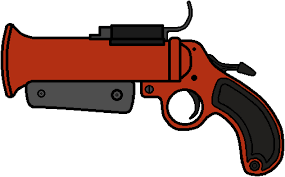 Tf2 Iron Curtain Stats by Walfas Custom Tf2 Flare Gun By Grayfox5000 On Deviantart