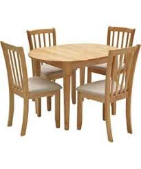 Banbury Extendable Dining Table And 4 Natural Chairs Argos Sale 170