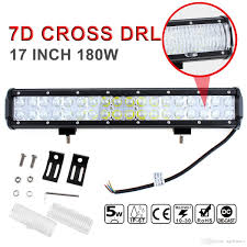 7D Cross DRL 17 Inch 180W LED Work Light Bar 36 LED Beam Combo Led ... China Dual Row 6000k 36w Cheap Led Light Bars For Jeep Truck Offroad Led Strips For A Carled Strip Arduinoled 5d 4d 480w Bar 45 Inch Off Road Driving Fog Lamp Lighting Police Dash Lights Deck And Curved Your Vehicle Buy Lund 271204 35 Black Bull With 52 400w High Power Boat Cheap Light Bars Trucks 28 Images Best 25 Led Amazoncom 7 Rail Spot Flood 4x4 6 40w Mini Work Single Trucks 4wd Testing Vs Expensive Pods Youtube