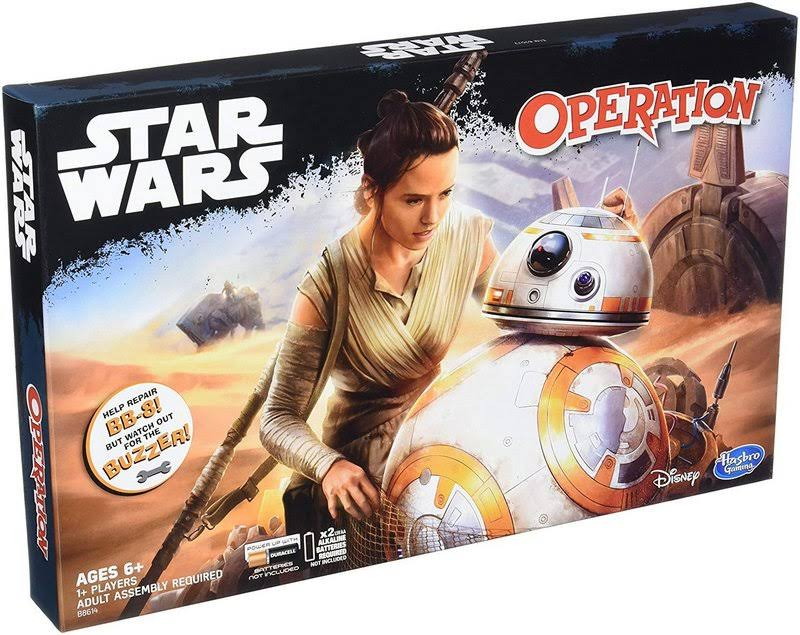 Hasbro Star Wars Edition Operation Board Game