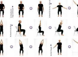 Senior Chair Yoga Exercises