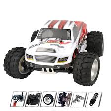 100 Best Rc Monster Truck 70KMH High Speed 118 4WD RC Car Buggy Off Road Car A979 B Rc