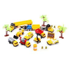 100 Types Of Construction Trucks Toys Sets Engineering Vehicles 21 PCs Bulldozers