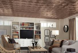 Armstrong Ceiling Tiles 2x2 by Copper Ceiling Look Armstrong Ceilings Residential