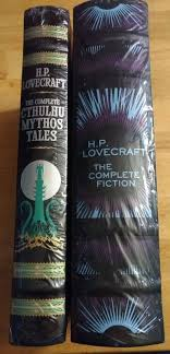 HP Lovecraft BN Leather Collection Cthuluh Mythos The Complete Fiction