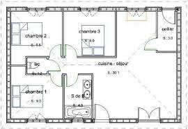 plan maison en bois gratuit plan maison 4 chambres plain pied gratuit pied gratuit chambres