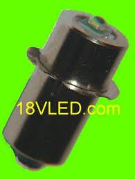 14 4 volt cree flashlight bulb fits dewalt makita rigid hitachi