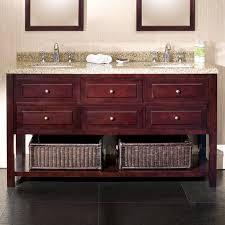 Walmart Bathroom Vanity With Sink by Ove Decors Danny 60 In Double Bathroom Vanity Walmart Com