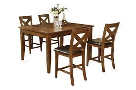 Lidia Pub Table + 4 Stools
