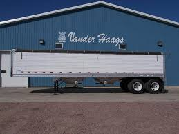 100 Stoughton Trucking 2018 34 Aluminum Spring Ride Hopper Grain Trailer For