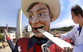 Big Tex To Be Featured On Travel Channel Show Giant Americ