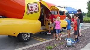 The Wienermobile Visits Rochester