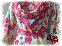 robe de chambre fille robe de chambre girly a sewing knitting by miss tuto