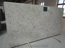colonial white granite tiles slabs polished tiles from india