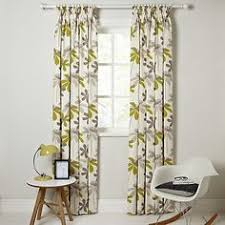 buy john lewis seedheads lined pencil pleat curtains online at
