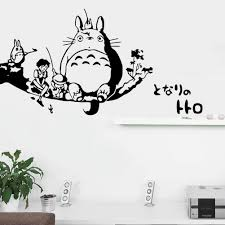 Wall Decal Winnie The Pooh by Pvc Japanese Anime Cartoon Character Cat Pattern Wall Stickers